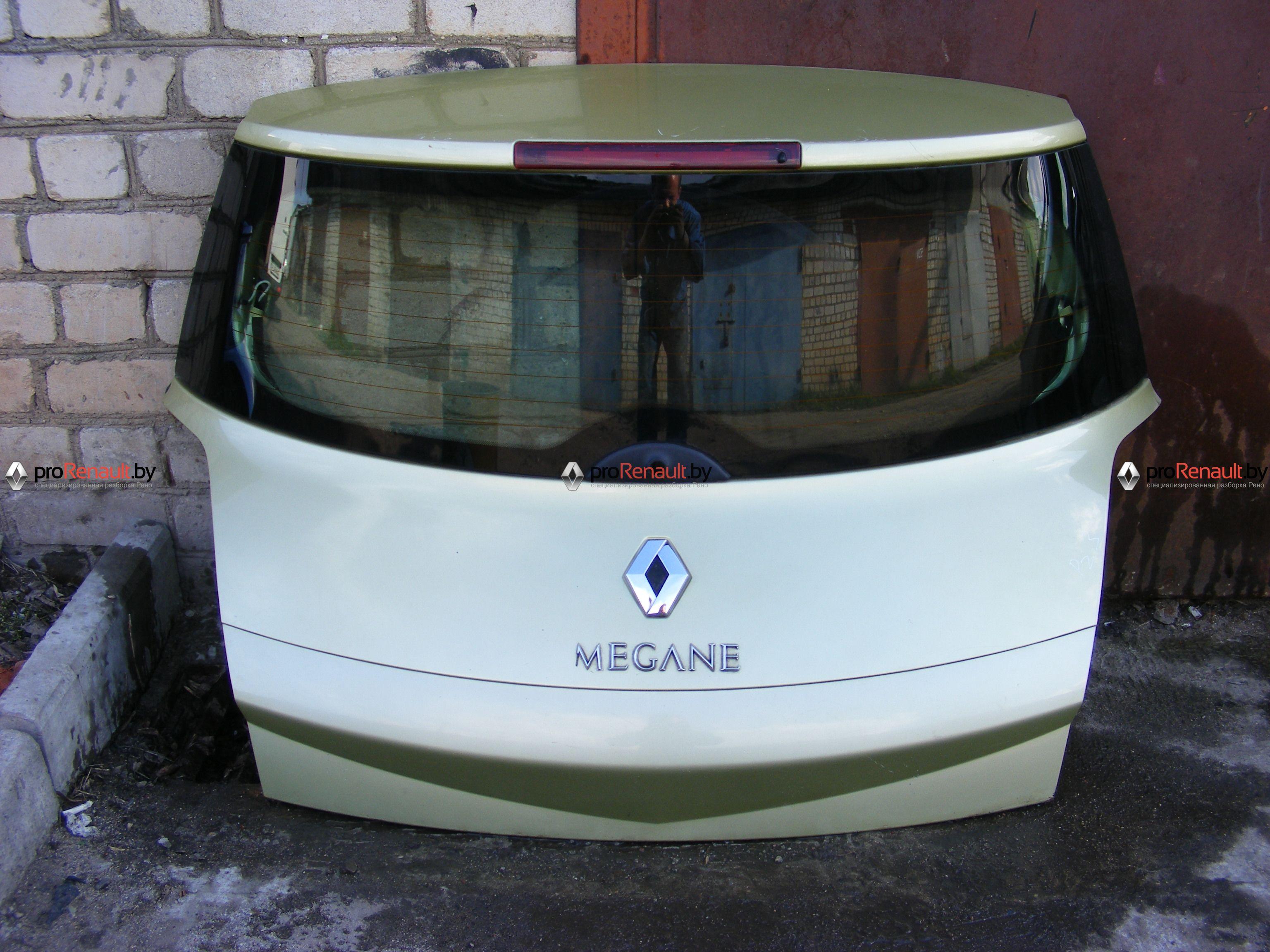 Крышка багажника ( дверь 3-5 ) Megane 2 (2002-2008)
